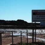 Efectos de ripio de perforación base agua...